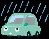 雨の日の運転に注意